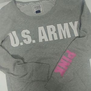 PINK U.S. Army Sweatshirt